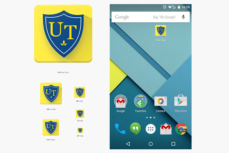 UT Android Application Icon