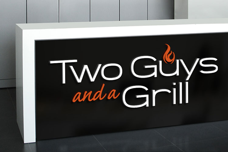 Two Guys and a Grill Logo